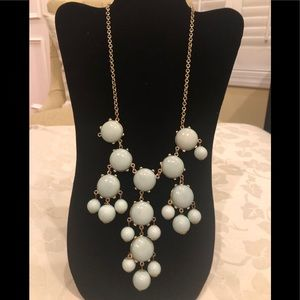 Light blue Bauble necklace